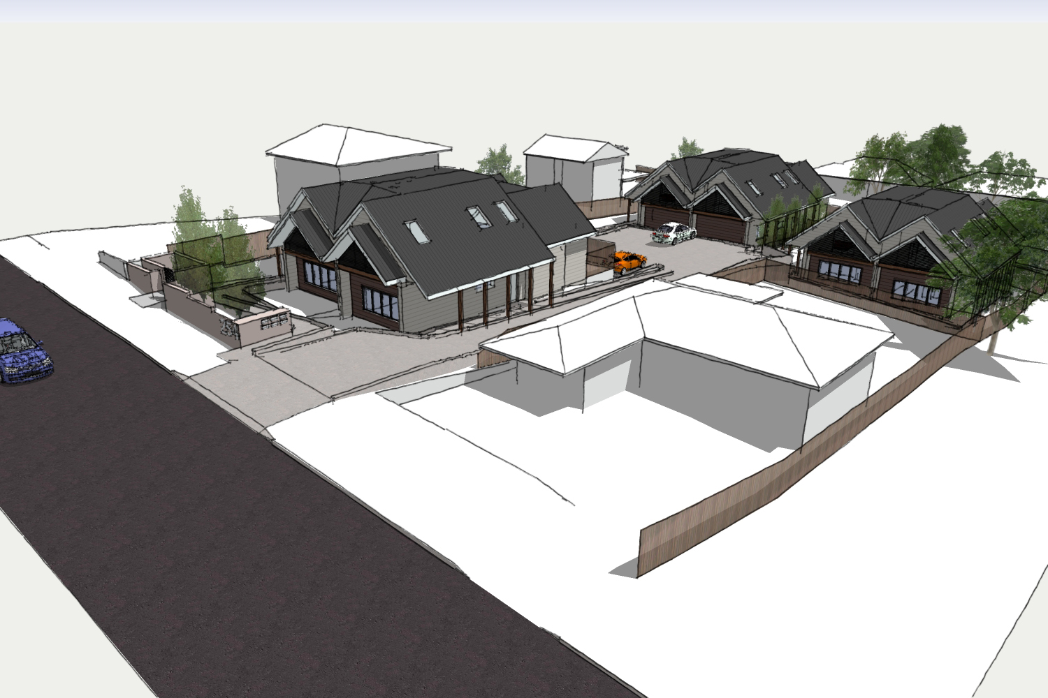 Da approved townhouse development under state for Disability accessible housing