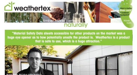 Weathertex uses one of our projects as a CASE STUDY