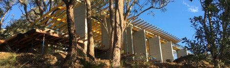 Construction commences on contemporary Berowra home